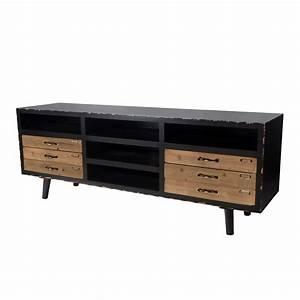 Meuble Tv Vintage : meuble tv vintage koya design ~ Teatrodelosmanantiales.com Idées de Décoration