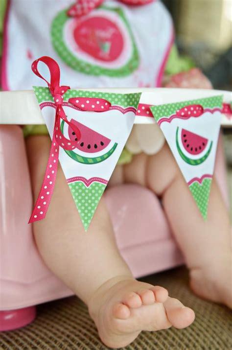 kara 39 s party ideas watermelon fruit summer girl 1st watermelon fruit summer girl 1st birthday party planning ideas