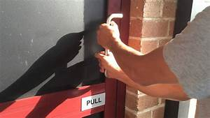 Pushing A Door When It Says Pull
