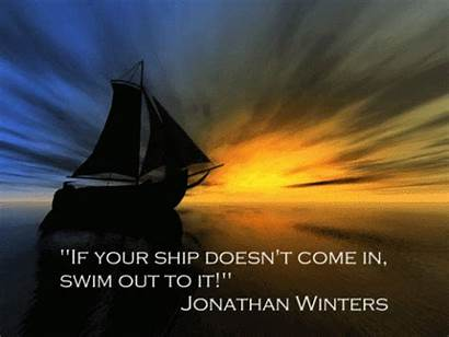 Quotes Inspirational Quote Swim Winters Ship Come