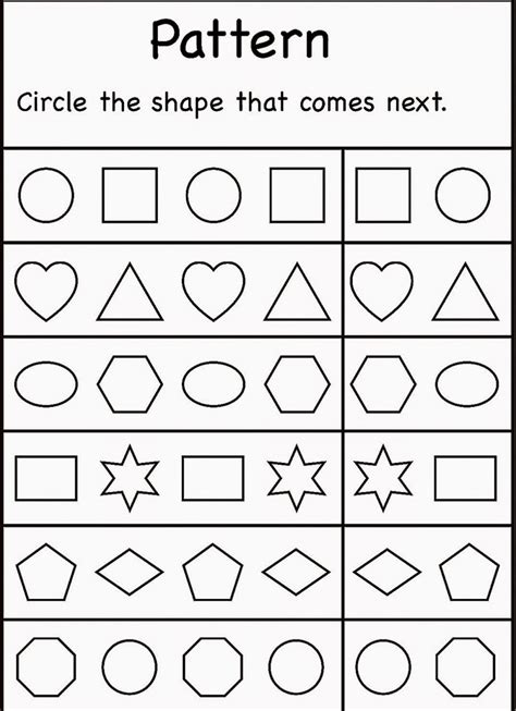 printable shapes   year olds    print