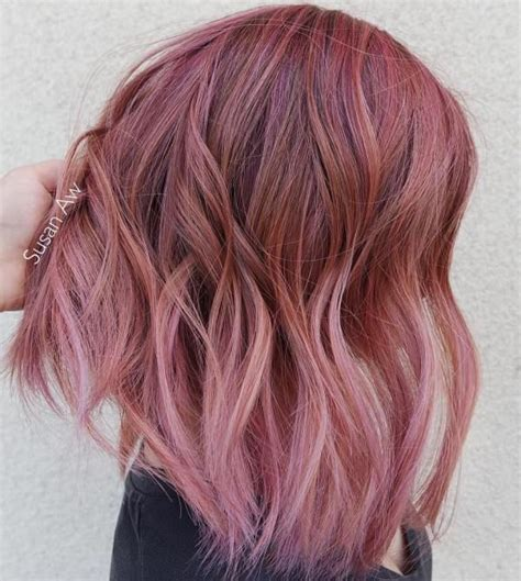 With Pink Highlights Hairstyles by 40 Pink Hairstyles As The Inspiration To Try Pink Hair In
