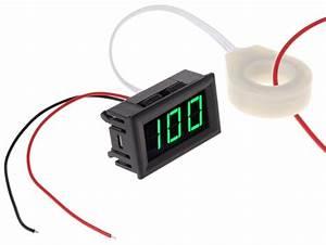 Dual Purpose Ammeter Plus Voltmeter  100 Amp Dc Digital
