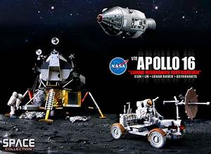 Dragon's 1:72 Apollo 16 CSM, LM and LRV - collectSPACE ...