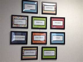 profile wall decorating my principal s office school administration teaching