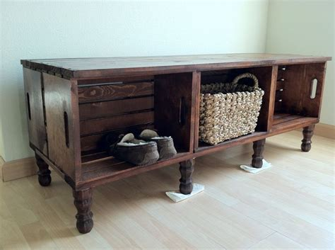 crate furniture bench 1000 ideas about crate tv stand on tv stands