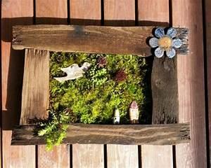 Wanddeko Für Draußen : du bois vieilli pour une d co jardin pas cher ~ Eleganceandgraceweddings.com Haus und Dekorationen