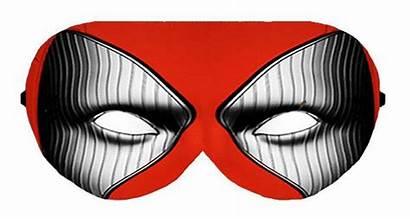 Mask Hero Eyes Sleep Deadpool Eye Sleeping