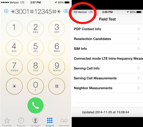 field test iphone use this clever trick to see your iphone s true signal