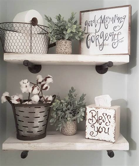 Decorating Ideas For A Bathroom Shelf by 32 Best The Toilet Storage Ideas And Designs For 2019