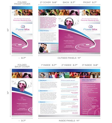 Adobe Photoshop Brochure Templates by Free Brochure Templates Brickhost Page 47