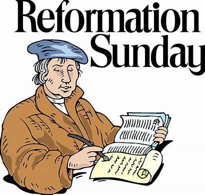 Reformation Sunday Church Lutheran Report