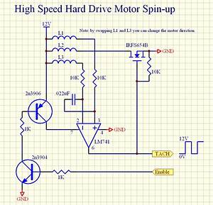 Hard Drive Stepper Motor