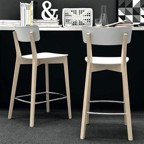 chaise bar hauteur assise 65 cm connubia calligaris jelly bar stool