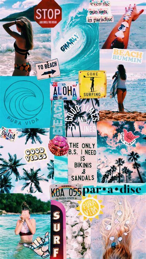 Wallpaper Vsco by Surfing Wallpaper Collage Vsco C1 Saturation 2 Temp