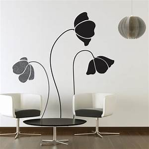 large flower wall decals 2017 grasscloth wallpaper With large wall stickers