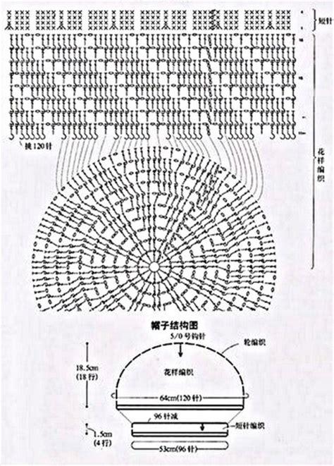 beautiful diagram  crochet lace summer hats
