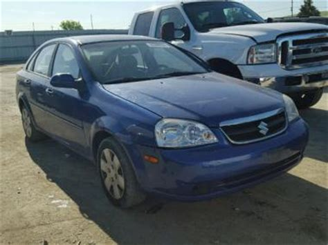 car owners manuals for sale 2006 suzuki forenza navigation system used 2006 suzuki forenza car for sale at auctionexport