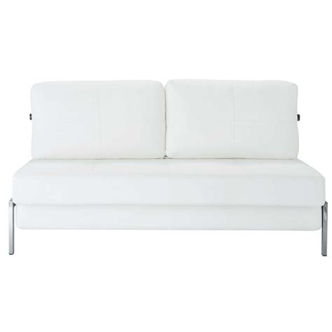 canape convertible 2 places canapé blanc 2 places convertible detroit maisons du monde