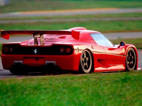 Given its uncompromising, purist approach to high performance, the f50 was devoid of power steering, power assisted braking and abs, but made extensive use of. Ferrari F50 GT Racing Car Sounds Magnificent Lapping the ...