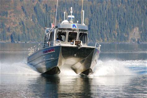 Boat Radar Manufacturers by Custom Aluminum Catamaran Builder The Hull