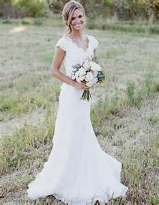 lace country wedding dresses rustic country lace wedding dresses naf dresses