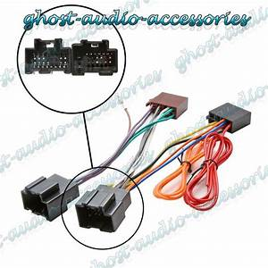 Car Stereo Radio Iso Wiring Harness Connector Adaptor Loom