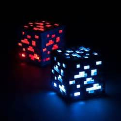 minecraft light up redstone amp diamond ore think geek ebay