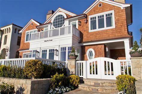 Cozy Coastal Home by Cozy Coastal House Coastal Exterior Orange