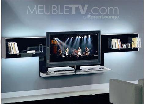 Fabriquer Son Meuble Tv Mural  Meuble De Salon Contemporain