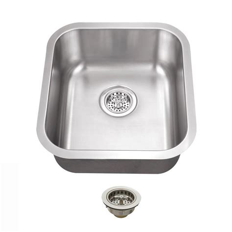 Home Depot Stainless Bar Sink by Ipt Sink Company Undermount 16 In 18 Stainless