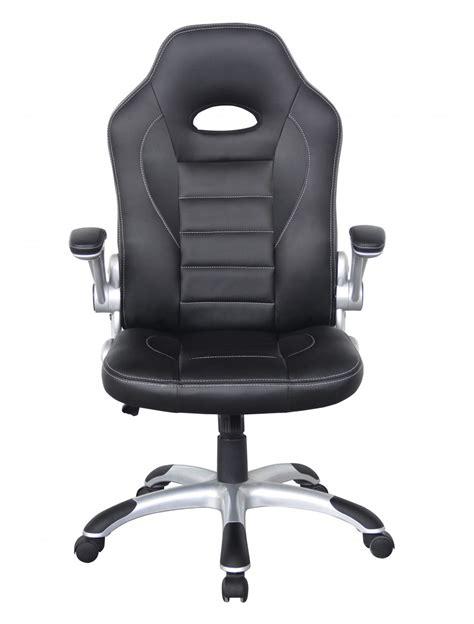 talladega racing style office chair aoc8211blk 121