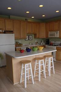 How to do recessed lighting in kitchen : Ideal kitchen recessed lighting spacing layout ideas