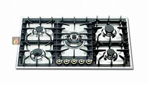 Plaque Gaz Et Induction : table de cuisson a gaz table de cuisson gaz verre ~ Dailycaller-alerts.com Idées de Décoration