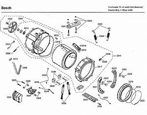 Bosch Wfmc8400uc  07 Washer Parts
