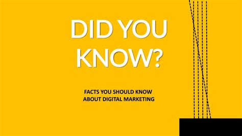 FACTS YOU SHOULD KNOW ABOUT DIGITAL MARKETING by digital24 ...
