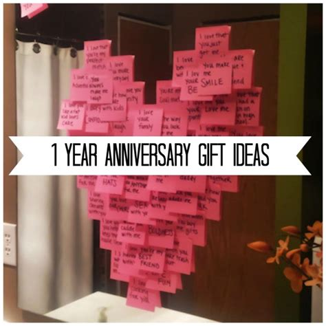 one year craft ideas gift ideas for your 1 year anniversary diy weddings 6984