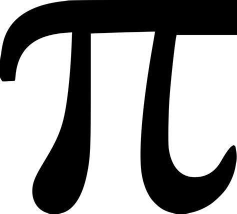 pi constanta const math geometry greek alphabet svg png