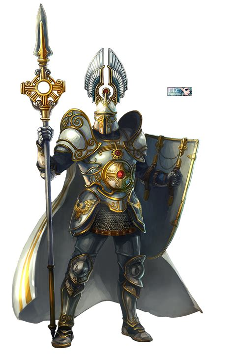 The armor is stupid but i like that spear | Fantasy armor ...