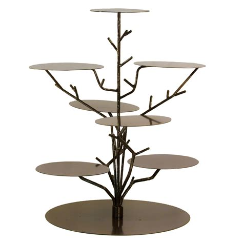 cupcake stand bronze tree celebrations party rentals