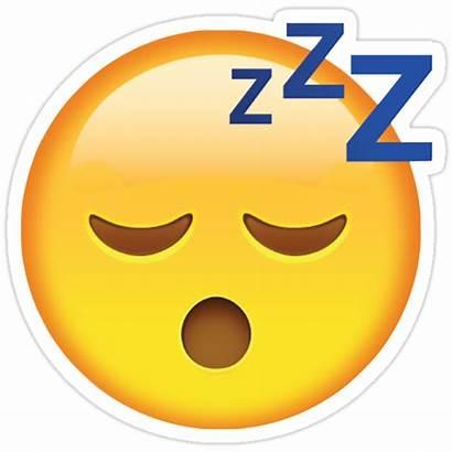 Emoji Tired Stickers Sticker Emojis Redbubble Face