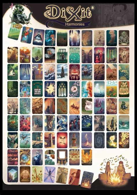 dixit    images card art board