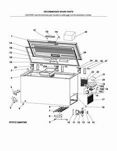 Kenmore Chest Freezer Wiring Diagram