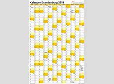 Feiertage 2019 Brandenburg + Kalender