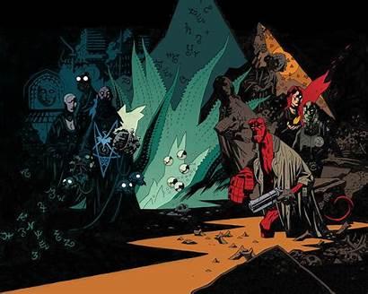 Hellboy Comics Mike Mignola Comic Hell Desktop