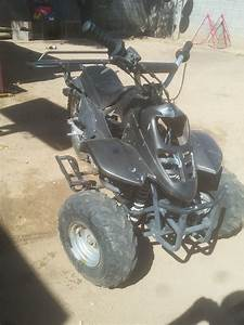 80cc Chinese Quad With Dirt Bike Rear End   Success