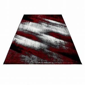 Tapis De Salon Pas Cher : tapis vintage rouge pour salon crystal ~ Teatrodelosmanantiales.com Idées de Décoration