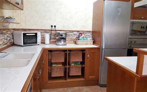 muebles de cocina de madera carpinteria ebanisteria