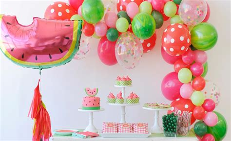 project decoration birthday decorations this watermelon party is delicious project nursery