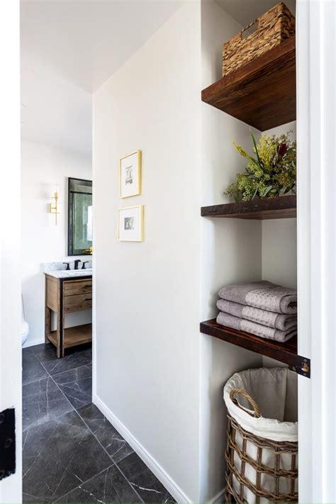master bathroom storage hgtv